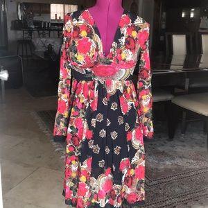 Jean Paul Gaultier Soleil Long Sleeve Dress